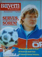 Programm 1991/92 FC Bayern München - Mönchengladbach