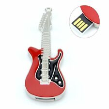 32Gb Red Metal Guitar USB Drive Memory Stick Flash Drive Novelty Gift