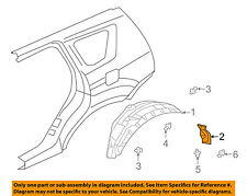 MITSUBISHI OEM 07-13 Outlander Exterior-Splash Guard Left 5370A073