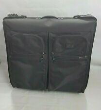 Tumi Extended Trip Wheeled Garment Nylon Black Bag