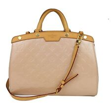 LOUIS VUITTON BREA VERNIS SHOULDER BAG - LIGHT BEIGE TAN PINK PATENT LEATHER