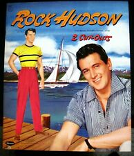 "1957 ""Rock Hudson"" Paper Dolls - Uncut and Unused - Excellent Condition *"