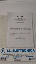 MANUALE IN ITALIANO  istruzioni d'uso FOTOCOPIA per YAESU VX-7R