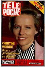 ▬►Télé Poche 958 (1984) C.OCKRENT_MICKAËL JACKSON_JOHNNY WEISSMULER_SHEILA