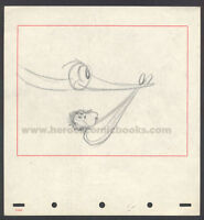 WALT DISNEY STUDIOS DUMBO STORYBOARD/CONCEPT DRAWING CIRCUS BABY DELIVERY (1941)