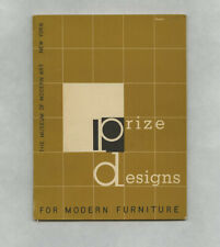 1950 Edgar Kaufmann PRIZE DESIGNS FOR MODERN FURNITURE Charles Eames MoMA catalg