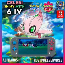 Shiny Celebi Pokemon Sword and Shield | Master Ball| Fast Delivery