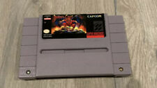 Demon's Crest Super Nintendo SNES. Authentic With Damaged Cart And Repo Label?
