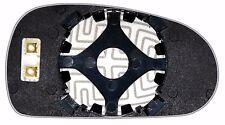 MIRROR GLASS Left Side AUDI TT 1999 00 01 02 03 2006 SPHERICAL Blue HEATED 12V