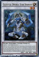 DUSA-EN018 Celestial Double Star Shaman Ultra Rare 1st Edition Mint YuGiOh Card