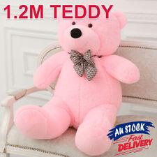 1.2M Doll Bear Teddy Giant Pink Stuffed Soft Gift Animal Cuddly Toy Plush ACB#