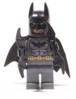 LEGO Super Heroes -  Figur Batman dunkelgrau mit 2 x Battarang / dim002 NEUWARE
