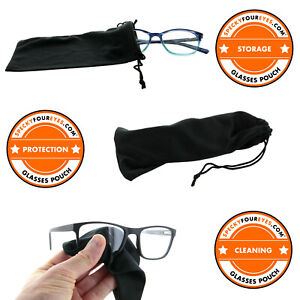 SPECKYFOUREYES®  GLASSES / SPECTACLE CASE POUCH / CLEANING CLOTH 99p DELIVERED