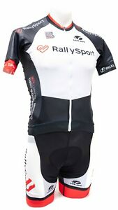 Voler Rally Sport Short Sleeve Cycling Kit Men XS SMALL White Road Bike Colorado