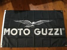 motto guzzi motor bike man cave flag banner wall hanging garage motor cycles