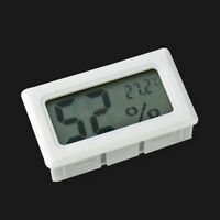 White Mini Digital Temperature Humidity Reader Hygrometer  Family Christmas Gift