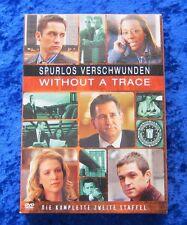 Spurlos verschwunden Without A Trace Die komplette Staffel 2, DVD Box Season