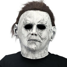 Scary Latex Halloween Masks Horror Adult Full Head Face Mask Props Moonlight New