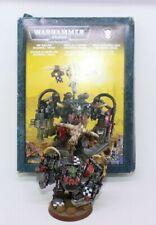 Juegos taller Warhammer 40k Ghazghkull Thraka Orks Warboss Metal Pintado fuera de imprenta