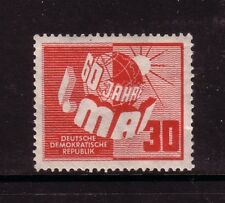 Germany -Ddr. 1950 30pf labour day mint