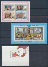 XC24008 Barbuda easter jubilee Elizabeth II sheets XXL MNH