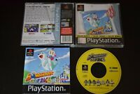 Bomberman: Fantasy Race PlayStation One PS1 Good Condition Manual Incl UK PAL