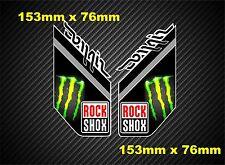 ROCKSHOX DOMAIN nouveau style sticker/autocollant fourche à suspension gx02