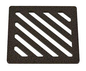 "130mm 13cm ~5.1"" Square Antique copper drain cover gully grid grate powder coat"