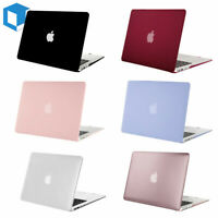 "Laptop Lid Rubberized Shell Case Cover for Macbook Pro 13/15 Air 13/11"" Inch NEW"