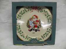 Lenox 1997 Annual Holiday Collector's Plate - Christmas List - with Box
