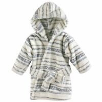 Hudson Baby Plush Bathrobe, Aztec