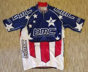 2012 BMC US National Champion Jersey - Signed by George Hincapie