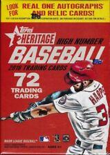 Cromos de béisbol de coleccionismo originales Heritage