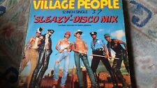 "Village People,""Sleazy-Disco Mix"" 12 inch vinyl"