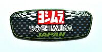 YOSHIMURA JAPAN 3D HEATPROOF EXHAUST BADGE STICKER GRAPHIC DECAL SILENCER METAL