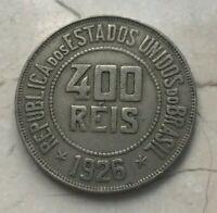 1926 Brazil 400 Reis