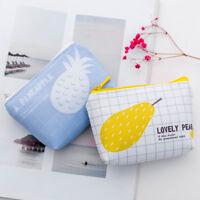Korean Cute Girls Card Key Mini Purse Pouch Bag Small Zipper Coin Holder Wallet-