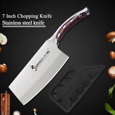 7inch Kitchen Chef Chopping Knife Resin Fibre Handle Stainless Steel Meat Clever