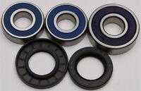 NEW ALL BALLS Rear Wheel Bearing Seal Kit Honda CBR900RR 96-99 VTR1000 98-05