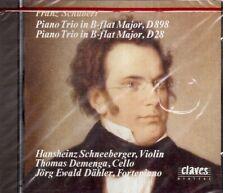 Schubert: Trio Fortepiano D 898, D 28 / Dahler, Demenga, Schneeberger - CD