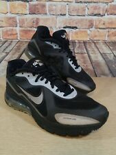 Nike Air Max Hyperfuse Alpha Black Grey 3M Mens Size 8 DS 454347-005