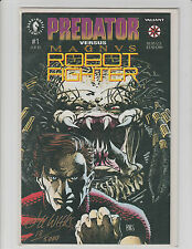 PREDATOR MAGNUS ROBOT FIGHTER #1 SIGNED BY LEE WEEKS AUTO DARK HORSE NOV 1992 NM