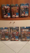 Marvel Legends Toy Biz Series Apocalypse, Mojo and Giant Man Series - Lot of 6