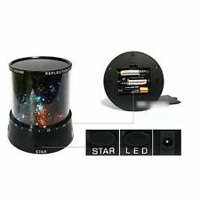 Colorful LED Night Light Star Galaxy Sky Constellation Lamp Projector Gift Light