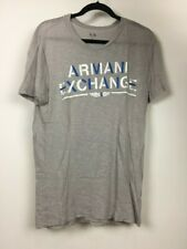 armani exchange ax mens t-shirt Segmented Logo