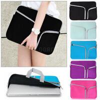 "For Various 11 13"" 13.3"" Tablet Laptop Hand Carry Neoprene Sleeve Bag Case Cover"