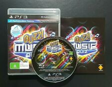 Buzz The Ultimate Music Quiz (Sony PlayStation 3, 2010) PS3 Game - FREE POST