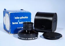 Minolta MD mx Telephoto Lens Adapter * Excellent & Boxed