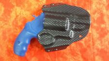 LEFT HOLSTER BLACK CARBON FIBER KYDEX FITS SMITH AND WESSON GOVERNOR S&W