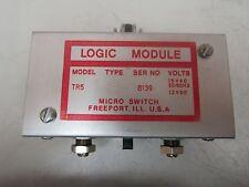 Micro Switch Logic Module Tr 5 Tr5 15 Vac 12 Vdc